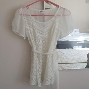 A blouse, rarely worn